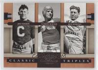 Jim Thorpe, Ken Strong, Sammy Baugh /1000
