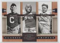 Jim Thorpe, Ken Strong, Sammy Baugh /1000