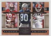 Steve Largent, Jerry Rice, Ozzie Newsome /1000
