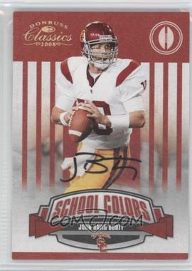 2008 Donruss Classics School Colors Signatures [Autographed] #SC-20 - John David Booty /50