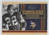 Paul Krause /1000