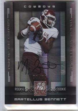 2008 Donruss Elite - [Base] - Rookies Turn of the Century Autographs [Autographed] #139 - Martellus Bennett /50