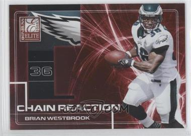 2008 Donruss Elite - Chain Reaction - Red #CR-3 - Brian Westbrook /200