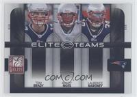Laurence Maroney, Tom Brady, Randy Moss /800