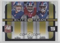 Brandon Jacobs, Eli Manning, Plaxico Burress /200