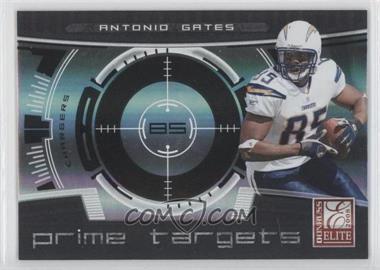 2008 Donruss Elite - Prime Targets - Black #PT-15 - Antonio Gates /400