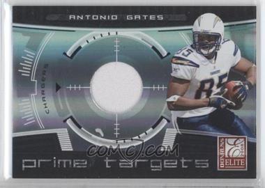 2008 Donruss Elite - Prime Targets - Jerseys [Memorabilia] #PT-15 - Antonio Gates /199