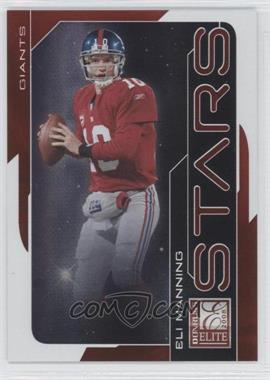 2008 Donruss Elite - Stars - Red #S-8 - Eli Manning /800
