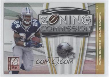 2008 Donruss Elite - Zoning Commission - Gold #ZC-10 - Marion Barber III /800