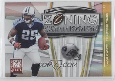 2008 Donruss Elite - Zoning Commission - Gold #ZC-12 - LenDale White /800