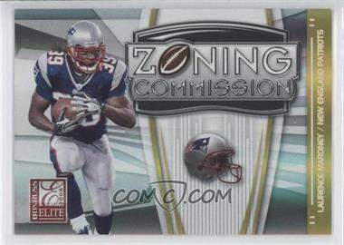 2008 Donruss Elite - Zoning Commission - Gold #ZC-14 - Laurence Maroney /800