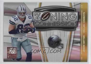 2008 Donruss Elite - Zoning Commission - Gold #ZC-24 - Jason Witten /800