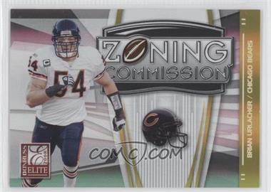 2008 Donruss Elite - Zoning Commission - Gold #ZC-29 - Brian Urlacher /800