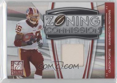 2008 Donruss Elite - Zoning Commission - Jerseys Prime [Memorabilia] #ZC-18 - Clinton Portis /50