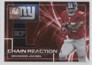 2008 Donruss Elite [???] #CR-6 - Brandon Jacobs /200