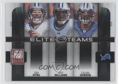 2008 Donruss Elite [???] #ET-12 - Jon Kitna, Roy Williams, Calvin Johnson /800