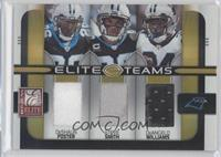 DeShaun Foster, Steve Smith, DeAngelo Williams /190