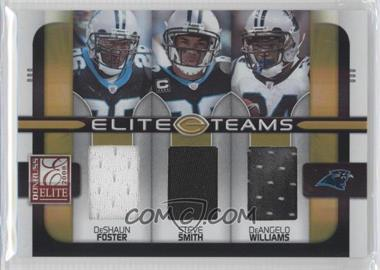 2008 Donruss Elite [???] #ET-24 - DeShaun Foster, Steve Smith, DeAngelo Williams /190