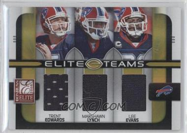 2008 Donruss Elite [???] #ET-6 - Trent Edwards, Marshawn Lynch, Lee Evans /199