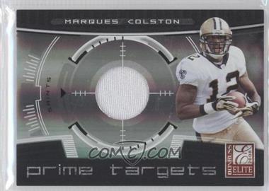 2008 Donruss Elite [???] #PT-16 - Marques Colston /199