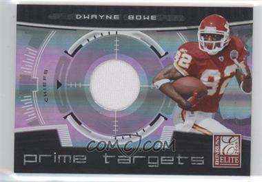 2008 Donruss Elite [???] #PT-20 - Dwayne Bowe /199