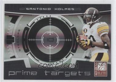 2008 Donruss Elite [???] #PT-21 - Santonio Holmes /400