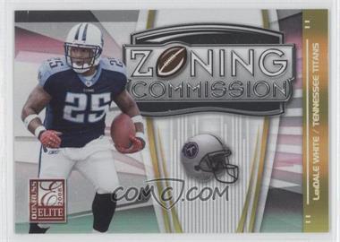 2008 Donruss Elite [???] #ZC-12 - LenDale White /800