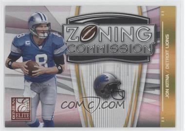 2008 Donruss Elite [???] #ZC-27 - Jon Kitna /800
