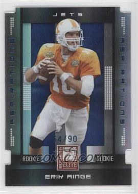2008 Donruss Elite Aspirations Die-Cut #108 - Erik Ainge /90