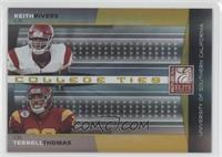 Keith Rivers, Terrell Thomas /400