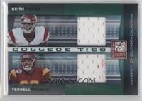 Keith Rivers, Terrell Thomas /100