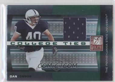 2008 Donruss Elite College Ties Jerseys [Memorabilia] #CT-14 - Dan Connor /150