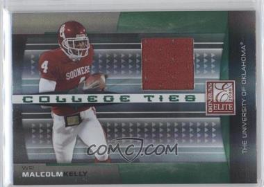 2008 Donruss Elite College Ties Jerseys [Memorabilia] #CT-20 - Malcolm Kelly /150