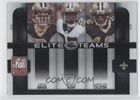 Drew Brees, Marques Colston, Reggie Bush /800