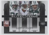 Jerricho Cotchery, Laveranues Coles, Thomas Jones /800