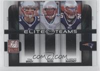 Laurence Maroney, Tom Brady, Randy Moss /800