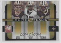 Marques Colston, Drew Brees, Reggie Bush /200