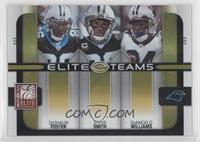 Steve Smith, DeAngelo Williams, DeShaun Foster /200