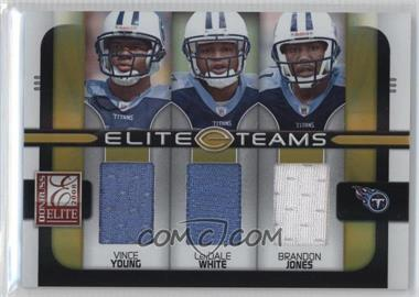 2008 Donruss Elite Elite Teams Jerseys [Memorabilia] #ET-21 - Brandon Jones, Vince Young, LenDale White /199