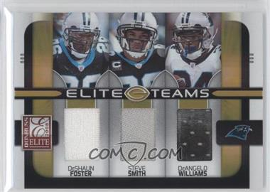 2008 Donruss Elite Elite Teams Jerseys [Memorabilia] #ET-24 - DeAngelo Williams, Steve Smith, DeShaun Foster /190