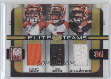 2008 Donruss Elite Elite Teams Jerseys [Memorabilia] #ET-3 - Chad Johnson, T.J. Houshmandzadeh, Carson Palmer /199