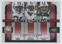 Jerricho Cotchery, Laveranues Coles, Thomas Jones /400
