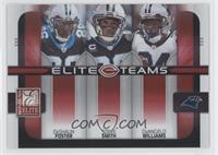 DeShaun Foster, DeAngelo Williams, Steve Smith /400