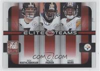 Willie Parker, Ben Roethlisberger, Hines Ward /400