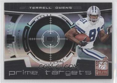 2008 Donruss Elite Prime Targets Black #PT-1 - Terrell Owens /400
