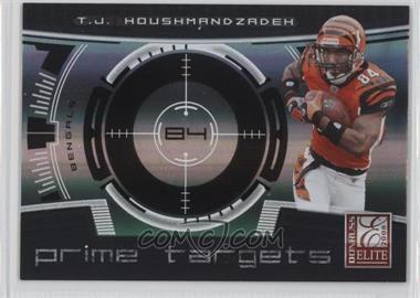 2008 Donruss Elite Prime Targets Black #PT-10 - T.J. Houshmandzadeh /400