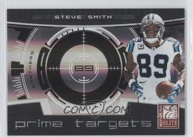 2008 Donruss Elite Prime Targets Black #PT-18 - Steve Smith /400