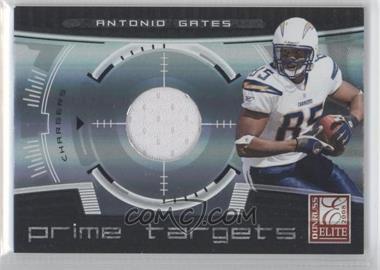 2008 Donruss Elite Prime Targets Jerseys [Memorabilia] #PT-15 - Antonio Gates /199