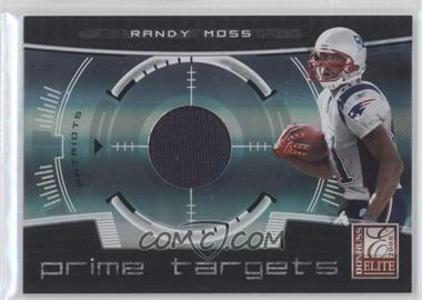 2008 Donruss Elite Prime Targets Jerseys [Memorabilia] #PT-2 - Randy Moss /199