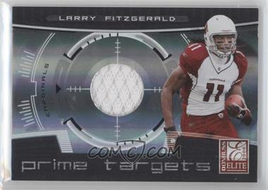 2008 Donruss Elite Prime Targets Jerseys [Memorabilia] #PT-5 - Larry Fitzgerald /199